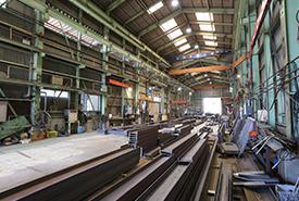 鉄工 第2工場の重井工場