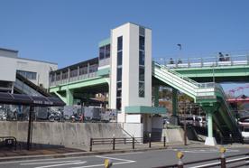 JR八本松駅エレベータ鉄骨工事