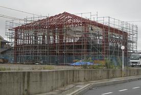 JA熊野支店鉄骨工事