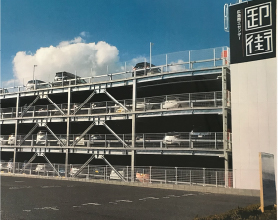 広島総合卸センター立体駐車場