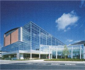 安芸高田市第二庁舎・総合文化保健福祉施設鉄骨工事